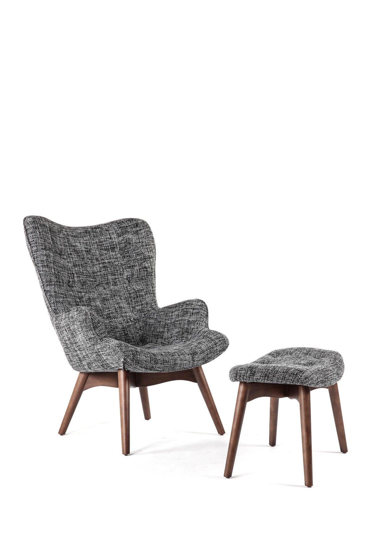 Control Brand The Teddy Twill Black Wood Bear Chair With Ottoman S Izobrazheniyami Dizajn Interera Mebel Dizajn