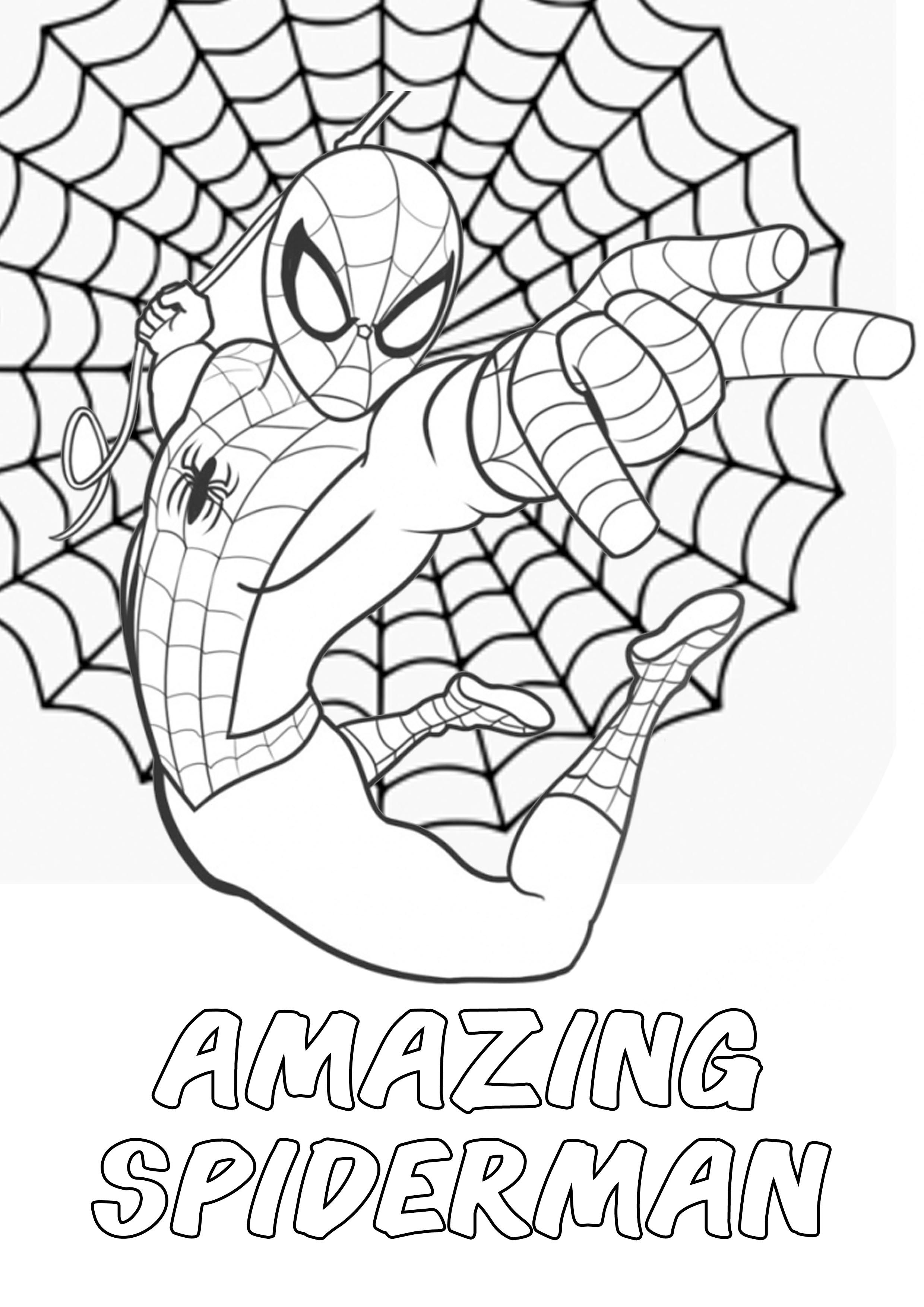 The Amazing Spiderman Action Movies Marvel Coloring Pages Marvel Coloring Coloring Pages Drawings For Him