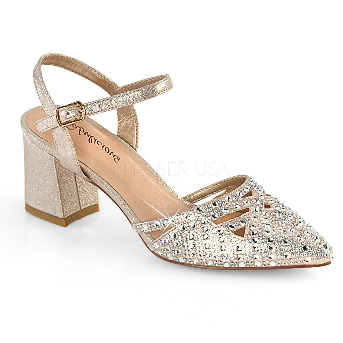 Gold Indian Bollywood Rhinestone Shoes Low Wedding Heels Womans size 9 10 11 12 ...#bollywood #gold #heels #indian #rhinestone #shoes #size #wedding #womans