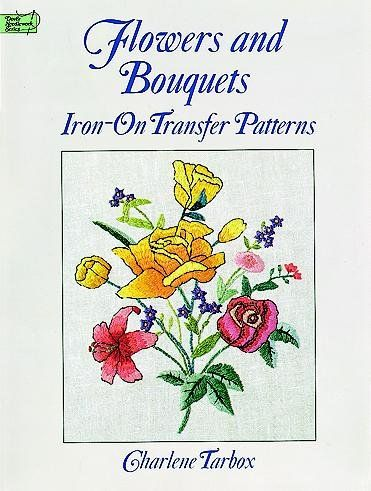 Flowers Bouquets Iron On Transfer Patterns For Hand Embroidery