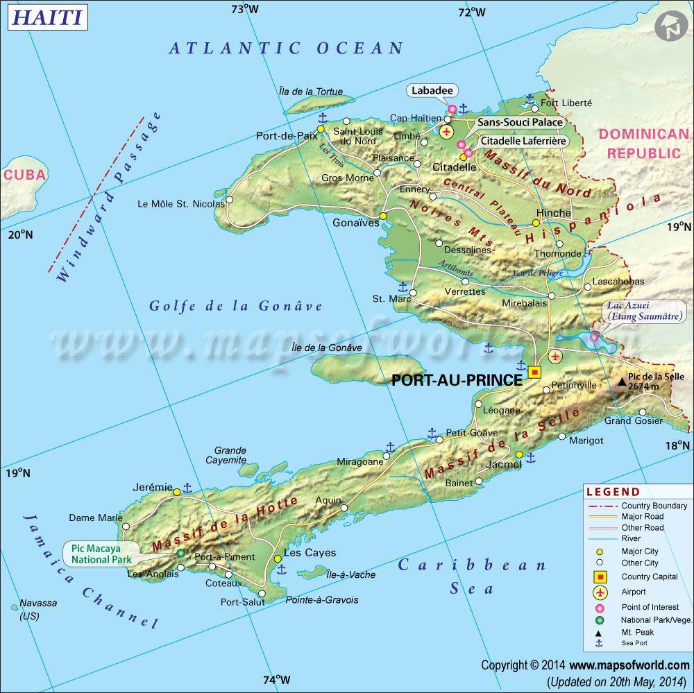 Haiti map political map pinterest haiti caribbean and explore haiti map gumiabroncs Images