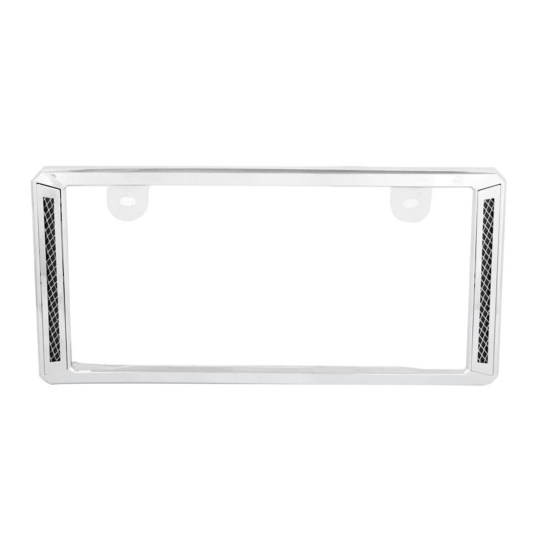 Unique Bargains Vehicle Car Plastic License Plate Frame Holder Silver Tone  sc 1 st  Pinterest & Unique Bargains Vehicle Car Plastic License Plate Frame Holder ...