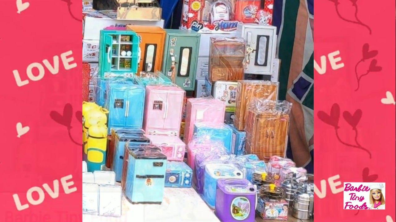 Miniature Toys Buy Online Tiny Kitchen Set Mini Home Appliance Sets For Kids House
