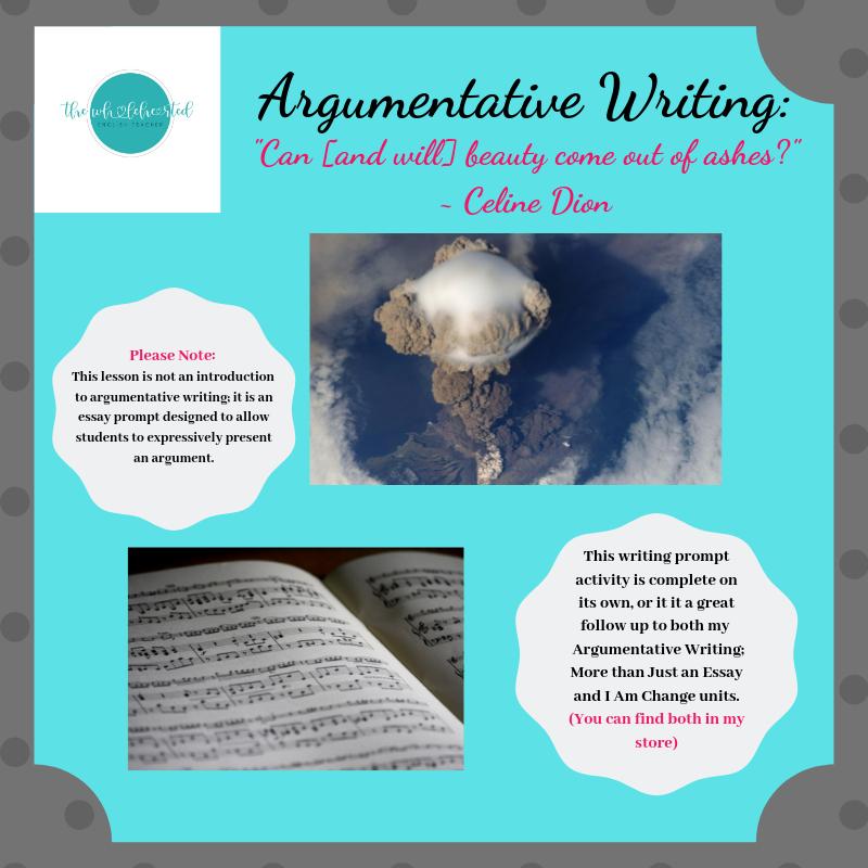 Creative argumentative essay topics