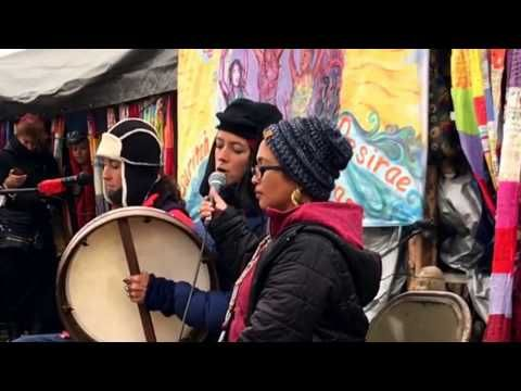 Rising Appalachia Performs at Standing Rock - YouTube