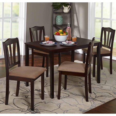 Home Wooden Dining Set Kitchen Table Settings Kitchen Dining Sets