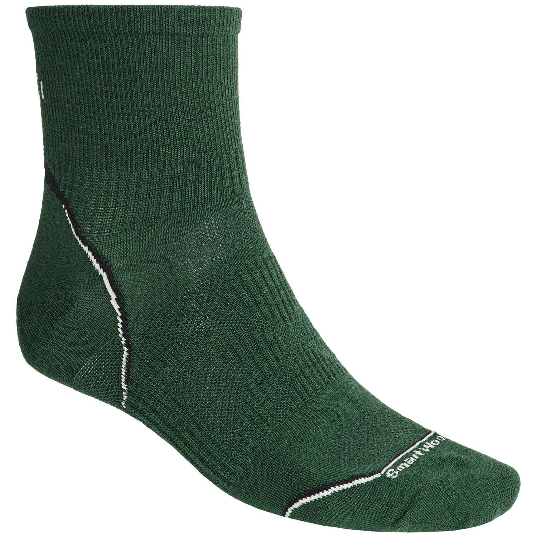 SmartWool 2012 PhD Running Mini Socks - Ultralight, Quarter-Crew (For Men and Women) any color, size medium $9.95