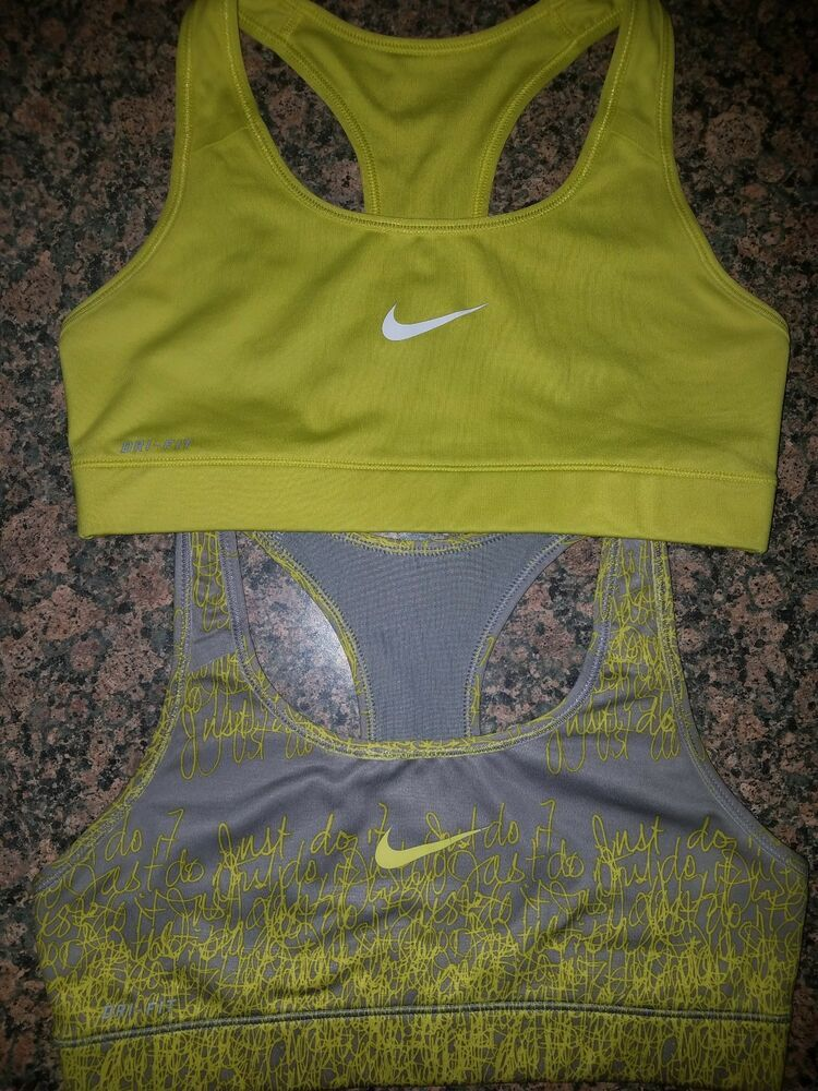 a9e7fad2b53ed 2 NIKE Dri-Fit  1  Just Do It Graphic Sports Bras  Women s Small   fashion   clothing  shoes  accessories  womensclothing  activewear (ebay link)