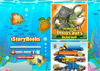 Story books. Página con diversos y divertidos libros en formato digital en inglés y castellano