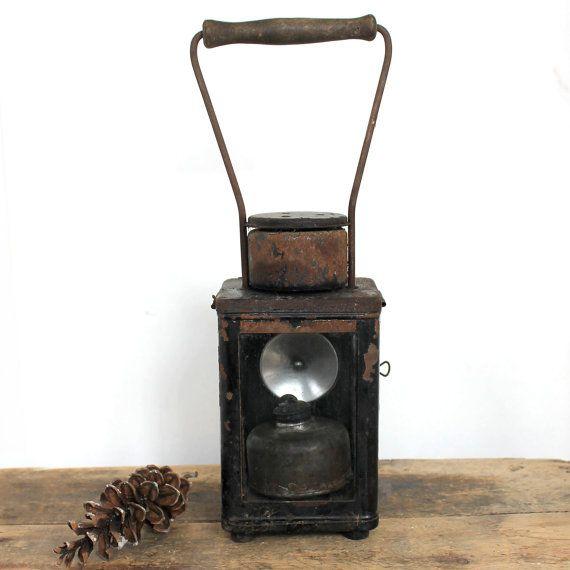 Railway Oil Lantern | Rustic decor