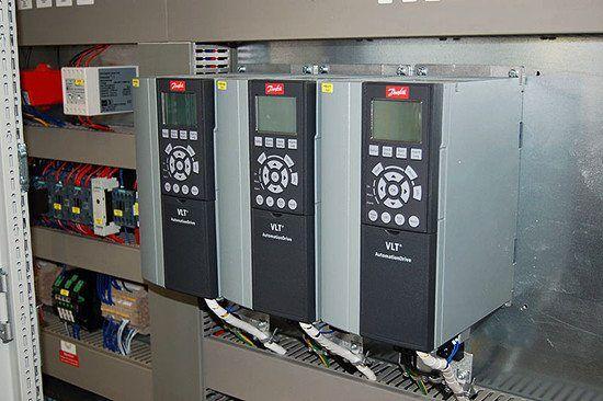 Danfoss Frequency Converters Converter Motor Locker Storage
