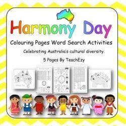 Harmony Day Activities Harmony Day Harmony Day Activities