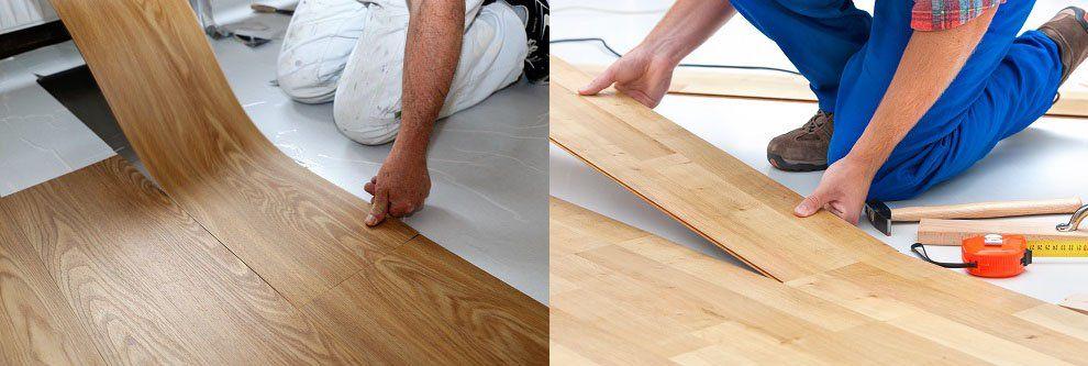 Vinyl Vs Laminate Flooring, Vinyl Wood Flooring Vs Laminate
