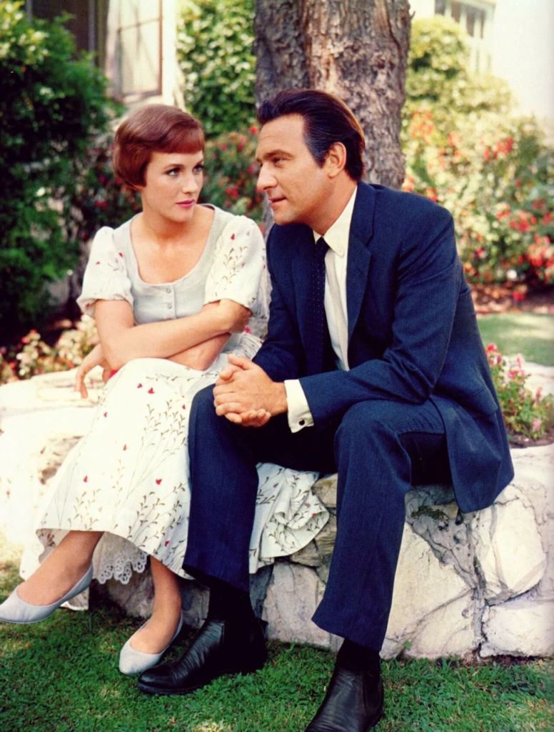 Julie And Christopher Between Takes Sound Of Music Movie Sound Of Music Musical Movies