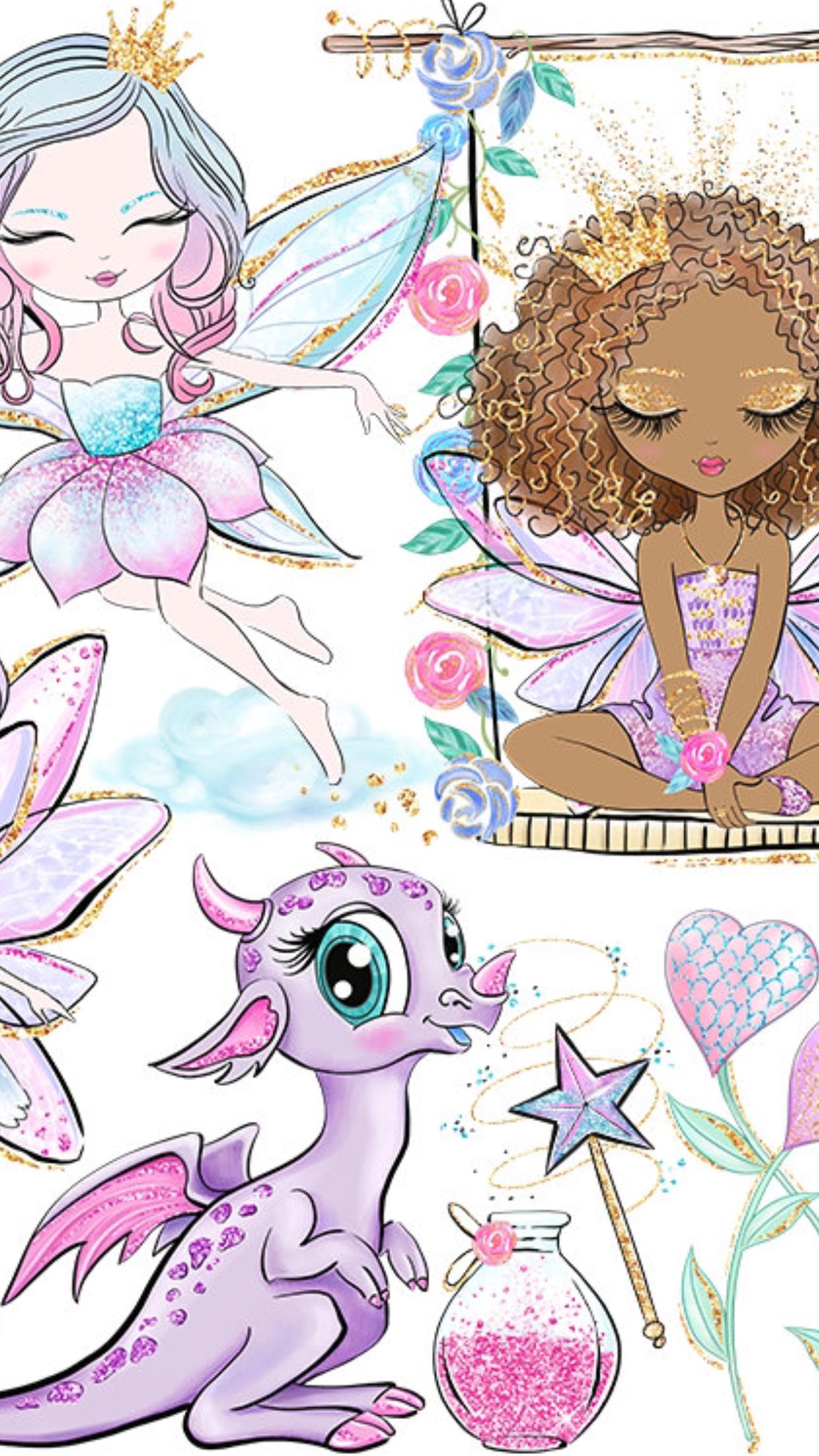 ᎥᏢhσnє Ꮃαllpαpєrѕ Fairy wallpaper, Cute wallpapers