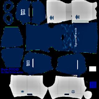 Everton Kit Dream League Soccer 2020 Kabartekno Online In 2020 Everton League Soccer Kits