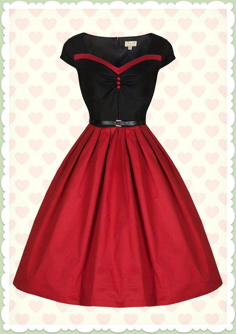 Petticoat kleid lindy bop