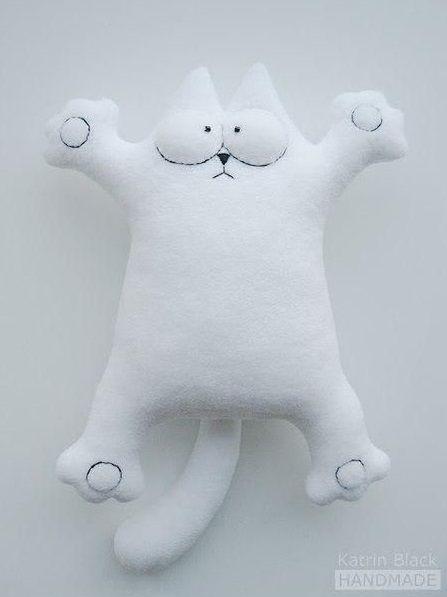Cojín gato: varios patrones gratis | Sewing | Pinterest