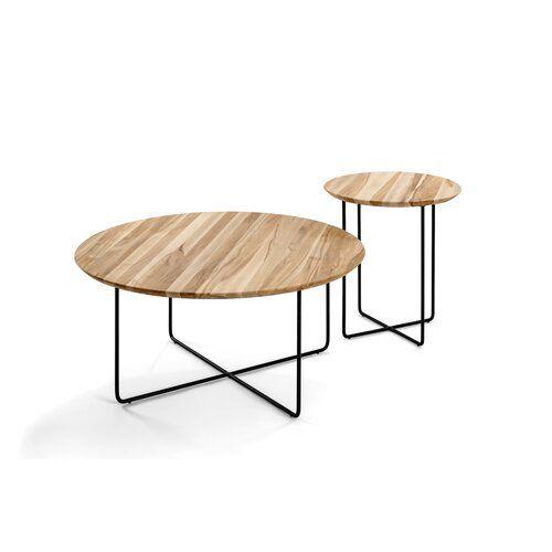 Newlyn Side Table Mercury Row Tabletop Colour Beech Heartwood Frame Colour Black Side Table With Storage Oak Side Table Side Table