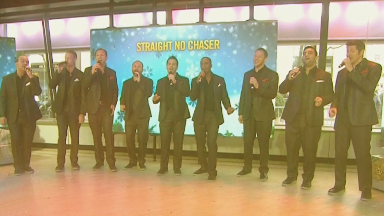Straight No Chaser - Rockin\' Around the Christmas Tree (live cover ...