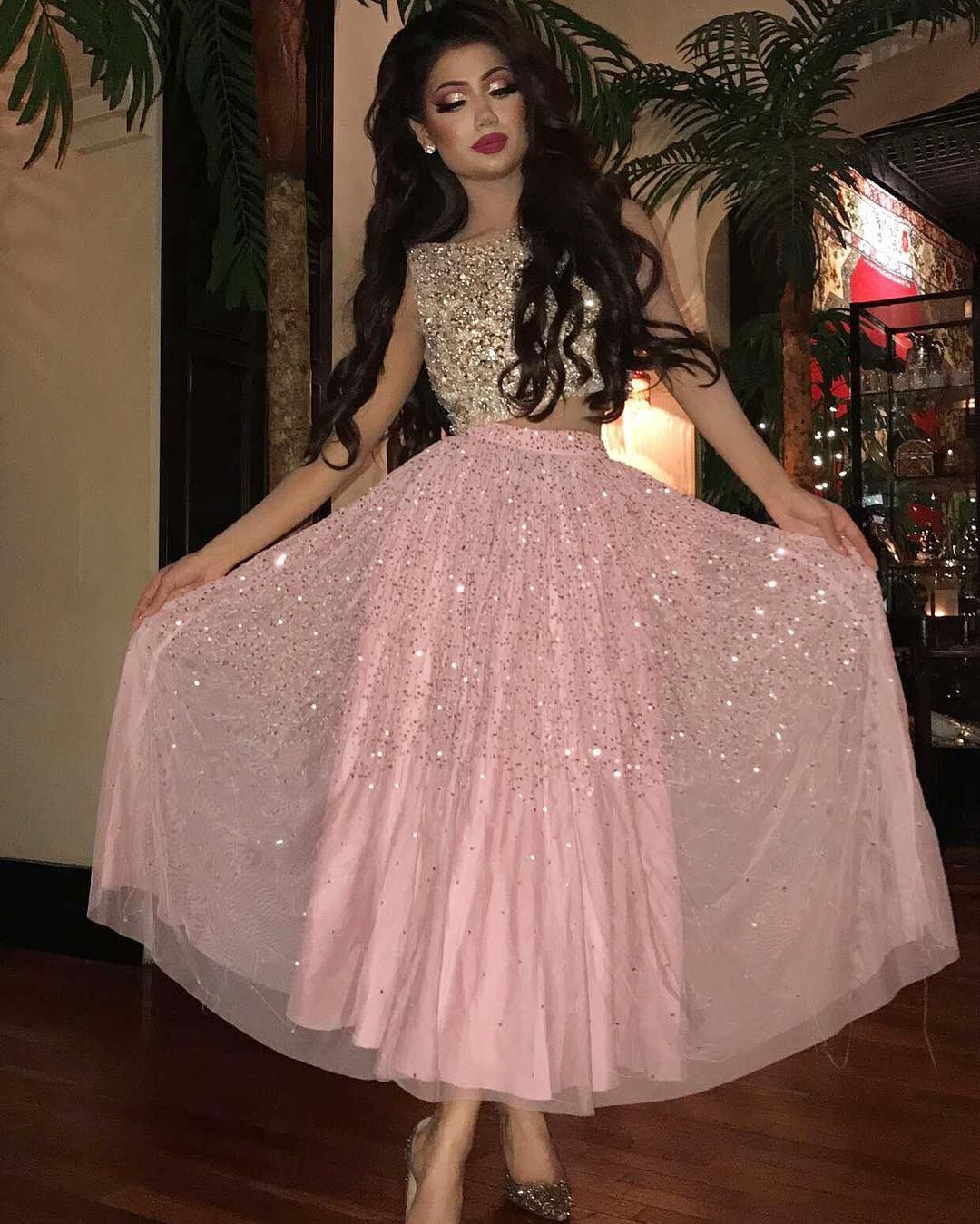 Sparkle pieces prom party dresses with sequins fashion formal