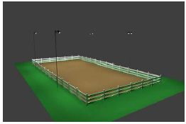 In response to popular demand, we now offer this professionally designed lighting package specifically catered to outdoor horse riding 100' x 200' arenas. Utilizing 16 state-of-the-art sport lighting fixtures, the layout provided offers superior, even illumination that is perfect for horse arena applications. If you want your riding arena to have a professional appearance, and are concerned about the safety of your riders, do not settle for ... #horsearenalighting #sportcourtlighting