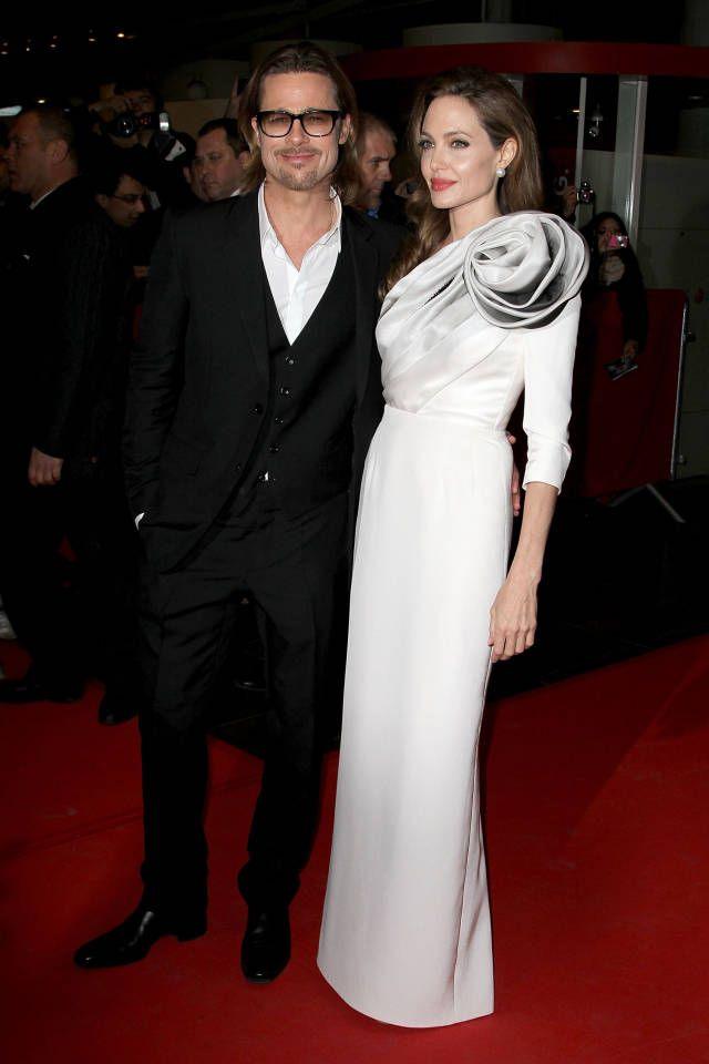 Angelina Goes Traditional For Her Wedding Gown Celebrity Style