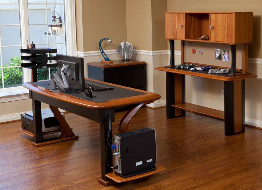 Here Is The Type 21 Desk From Caretta Workspace Showing
