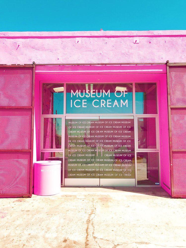 Visit The Museum Of Ice Cream Los Angeles California