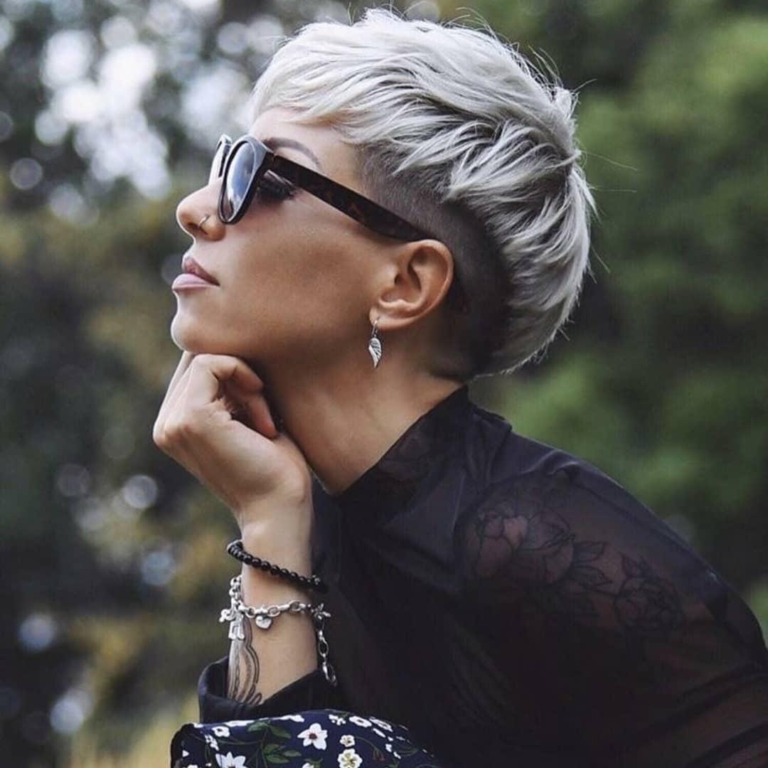 10 Feminine Pixie Haircuts Ideas for Women - Short