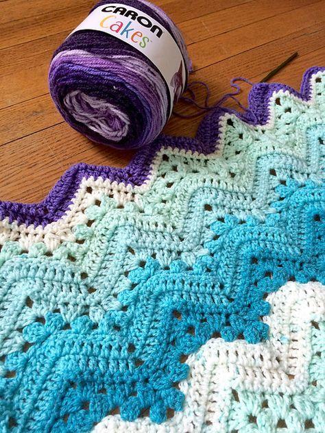 Easy] 6-Day Kid Blanket - Free pattern | Crocheting