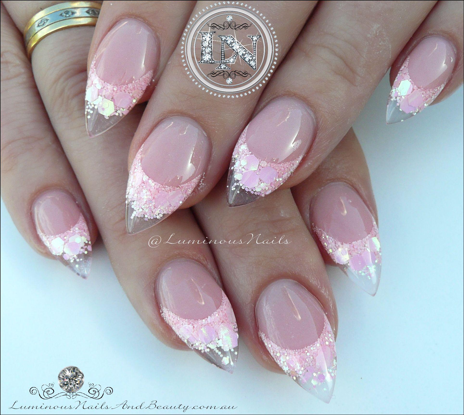 Baby Pink Sculptured Acrylic Pretties | Health n beauty | Pinterest ...