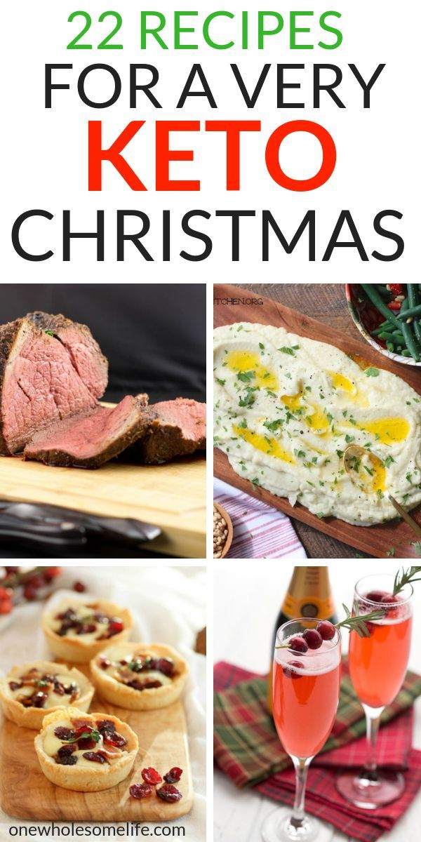22 Recipes For A Very Keto Christmas - One Wholesome Life