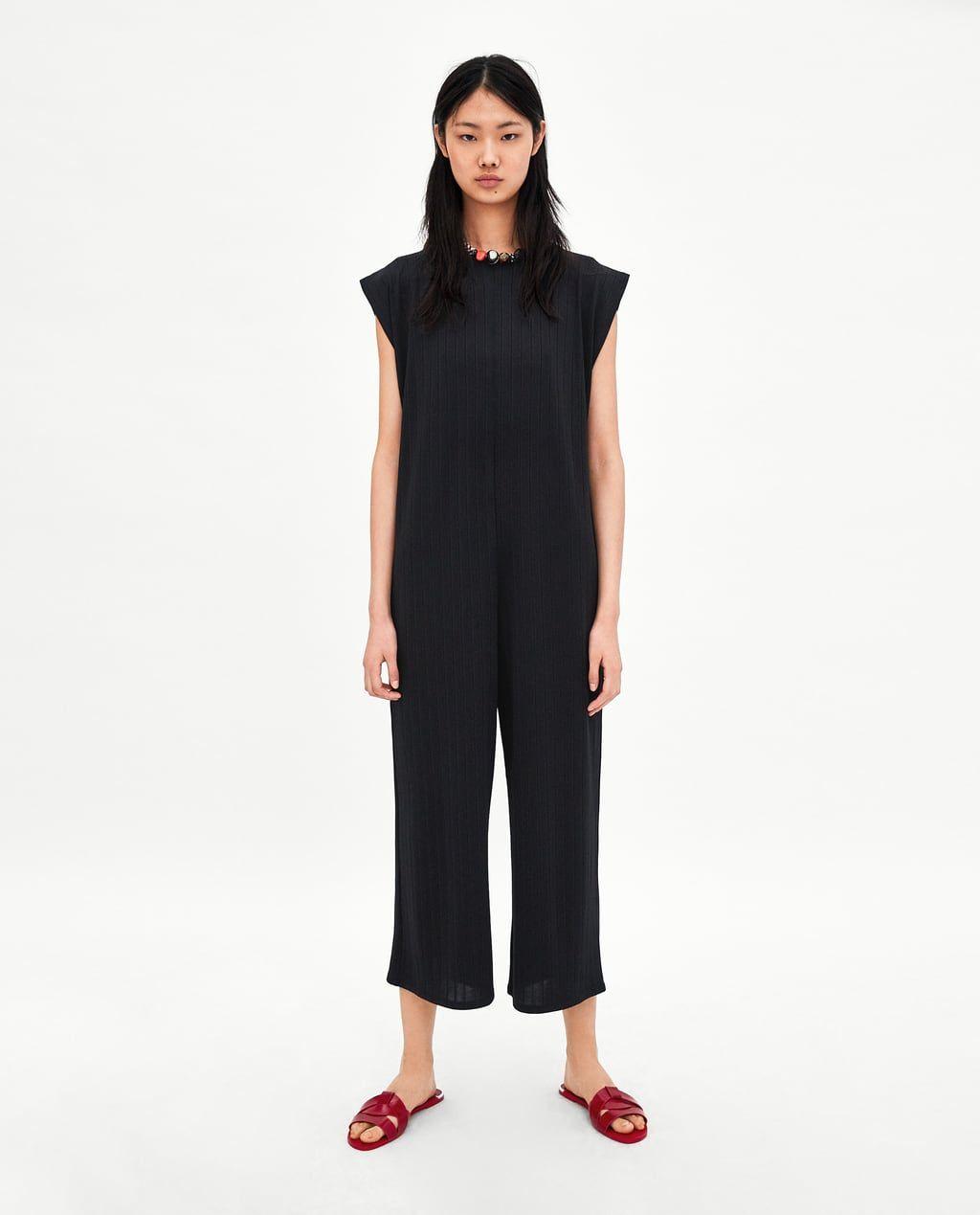 taglia 40 d0486 61d24 Immagine 1 di TUTA MORBIDA A COSTINE di Zara | My Style ...