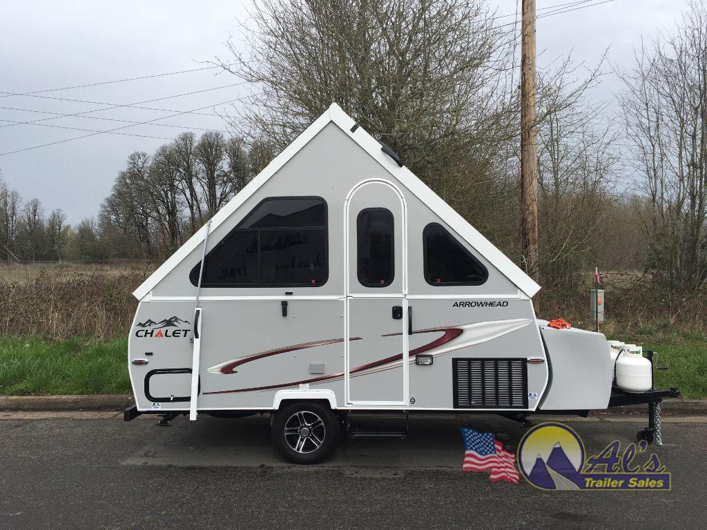 New 2017 Chalet A-Frame Arrowhead Folding Pop-Up Camper at Al\'s ...