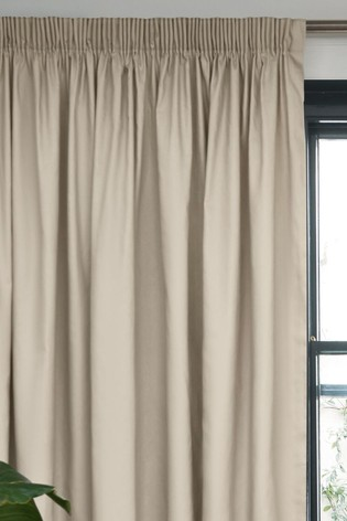 Eyelet Blackout Thermal Cotton Curtains In 2020 Cotton Curtains