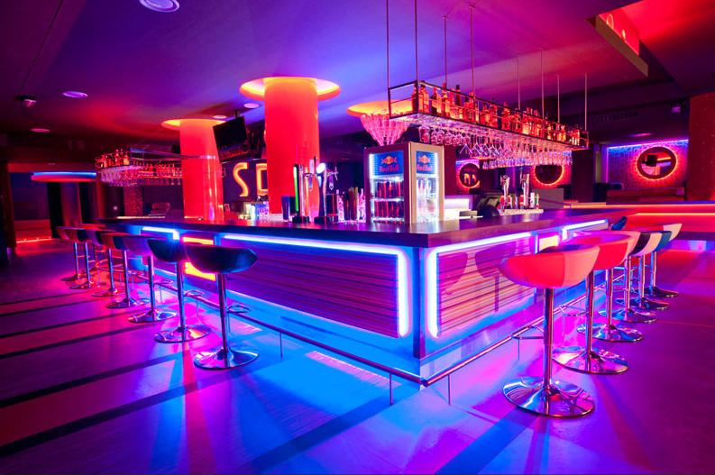 Inside The Sogo Night Club In Wroclaw Nightclub Design Club