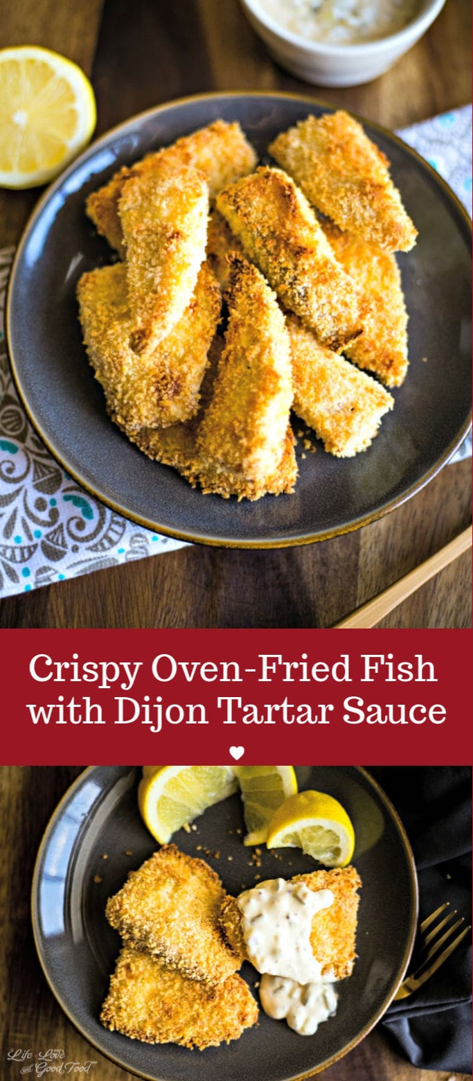 Photo of Crispy Oven-Fried Fish Filets | Life, Love, and Good Food