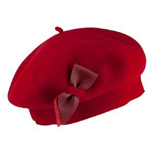 3f6c50e0a51 Laulhere Hats Colette Merino Wool Beret - Red from Village Hats ...