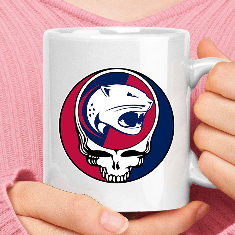 Personalised Jaguar logo mug D1