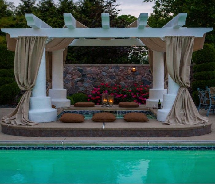 Pool Pergola An Open Air Structure | Pergolas, Patios and Privacy fences