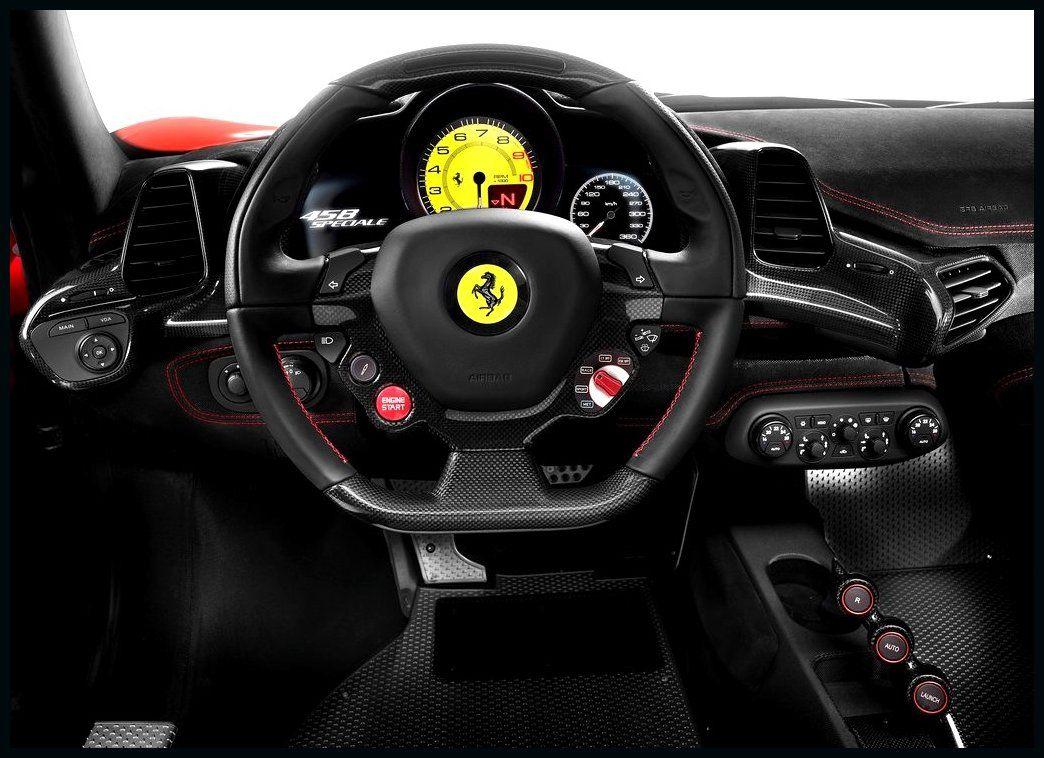 Ferrari 458 Spider Interior Cockpit Wallpaper With Images