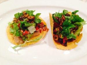 Bean & Guacamole Tostadas! My kids go crazy for these home made tostadas. #vegan