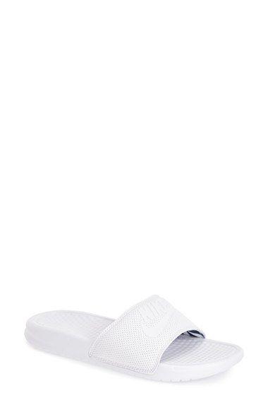 8dc3b150015a4 NIKE  Benassi - Just Do It  Slide Sandal (Women).  nike  shoes  slip ...