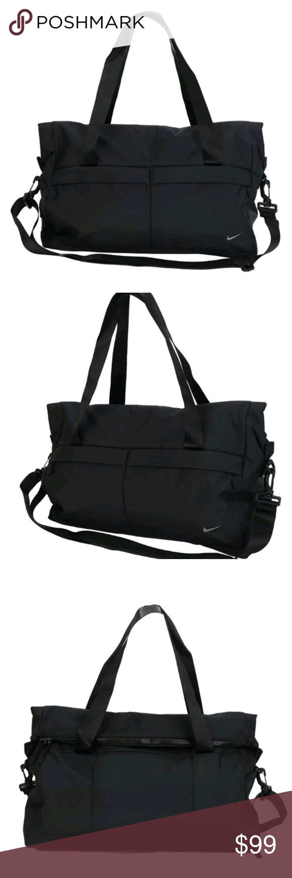 97f1ae06b2395 Gym Bag · Nike Legendary Club Duffel Bag Black NEW Nike Legend Club Bags  Black Running Sports Duffel Bag