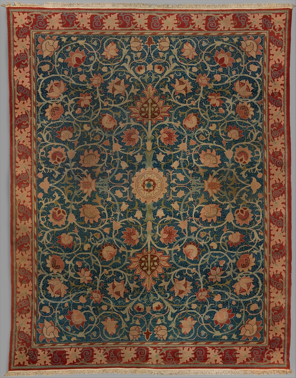 Holland Park Carpet Designer Designed By William Morris British Walthamstow London 1834 1896 H William Morris William Morris Designs William Morris Patterns