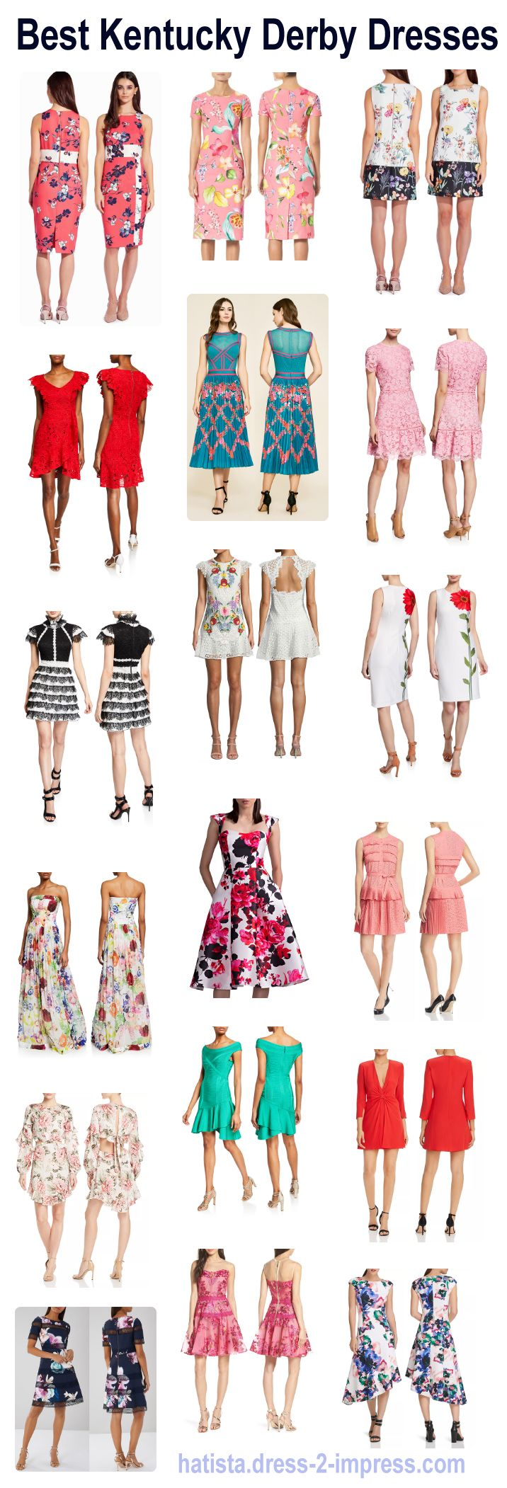 Kentucky Derby 2020 Fashion.Looking For The Best Kentucky Derby Dresses Read Blog With