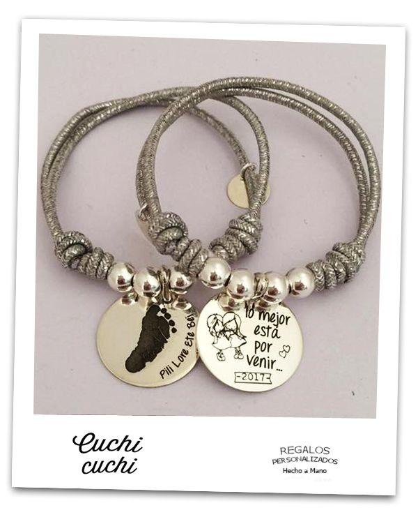 6200ea56ab02 Diseñar pulseras online ️regalo personalizado para celebraciones pulseritas  chulas regalos originales para novios