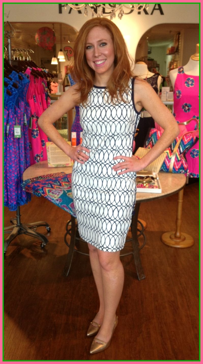 The Lilly Pulitzer Francesca Dress spins us right round!