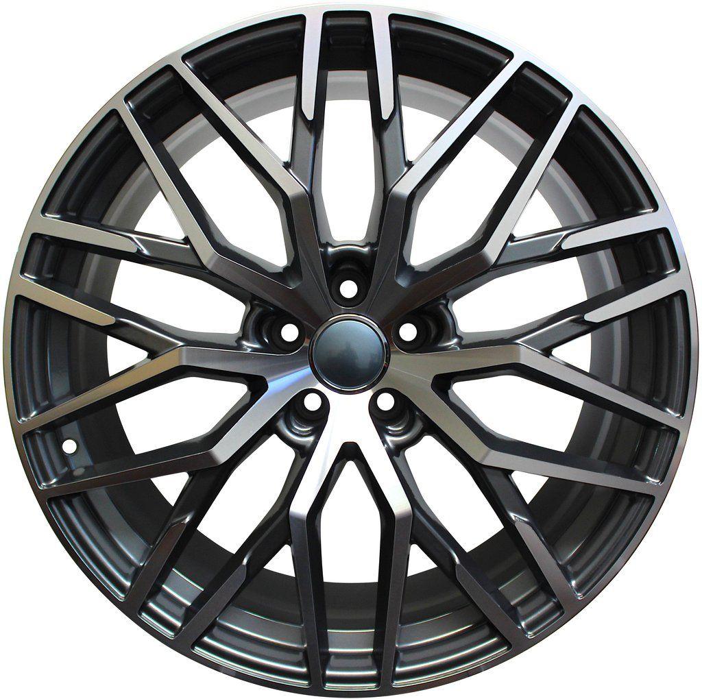 19 Inch Rims Audi S Line R8 Style A5 S5 A6 S6 A7 S7 A8 S8 Q3 Qs3 Q5 Sq5 Q7 Sq7 Mesh Machined Wheels Audi Audi Rims Wheel